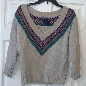 Deep V-Neck American Eagle Sweater